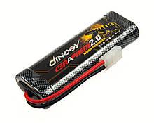 Аккумулятор Dinogy NiMH 5000mAh 7.2V 25x46x133мм Tamiya