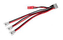 Зарядный кабель Dinogy 3 x Walkera/Hubsan