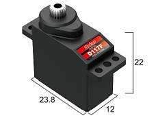 Сервопривод микро 12г BATAN D117F 2.5кг/0.12сек металл цифровой