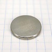 Магнит потайной 20*1,8 мм для сумок t4990 (5 шт.)