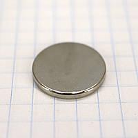Магнит потайной 18*1,8 мм для сумок t4991 (10 шт.)