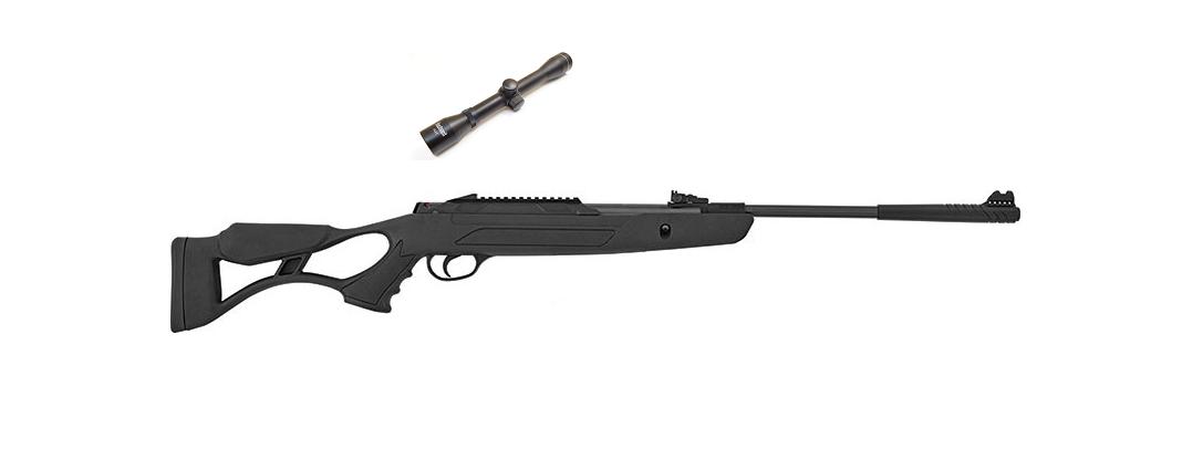 Пневматическая винтовка Hatsan AirTact PD с газовой пружиной + прицел 4x32