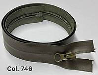 Молния водоотталкивающая (змейка) спираль хаки  тип 7 ( 18 см)