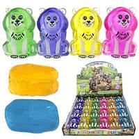 Игрушка слайм для детей Львёнок 24 шт