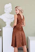 Эффектное платье с акцентом на талию, фото 3