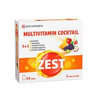 Мультивітамінний коктейль ZEST® 14 саші