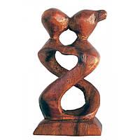 """Статуэтка """"Влюбленные"""" дерево (10,5х,5х2 см)D"""