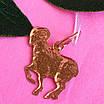 Золотой кулон знак зодиака Овен, фото 4
