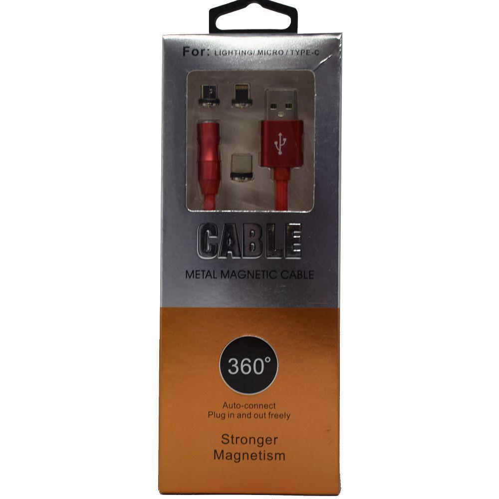 USB кабель магнит X360 3/1