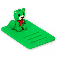 Коврик держатель Holder animation Design 1 Bear Green
