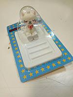 Коврик держатель Holder animation Design 22 Cat White