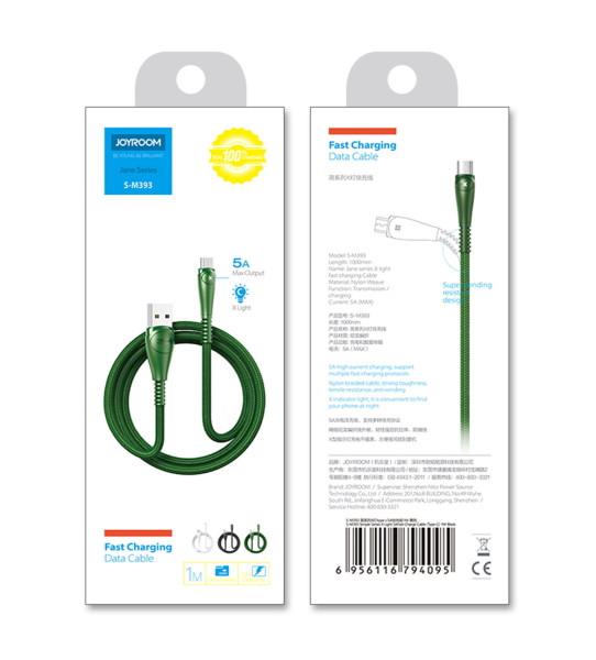 USB кабель JOYROOM S-M393m