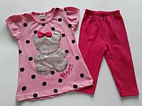 """Детский летний костюм для девочки """"Bear"""""""