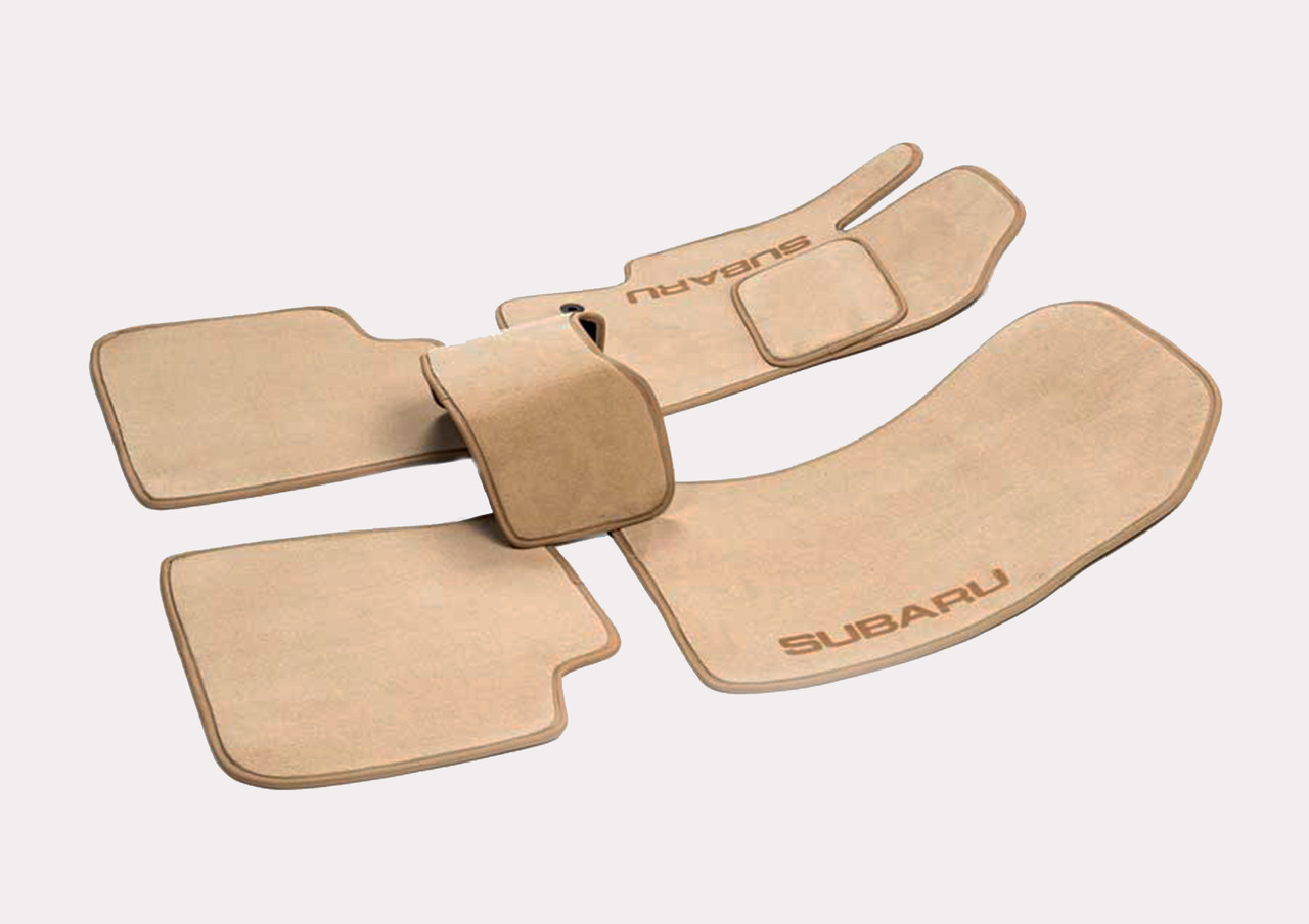 Велюровые (тканевые) коврики в салон Nissan X-Trail (T30)