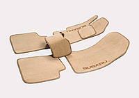 Велюровые (тканевые) коврики в салон Toyota Corolla, фото 1