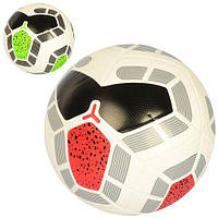 М'яч футбольний EN 3198 розмір 5, ПУ, ламінов., 400-420г, 2 кольори, кул.