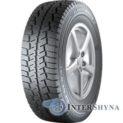 Шини зимові 185 R14C 102/100Q (під шип) General Tire Eurovan Winter 2