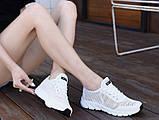 Кроссовки Летние Fashion белые, фото 4