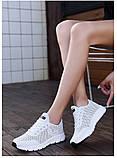 Кроссовки Летние Fashion белые, фото 2