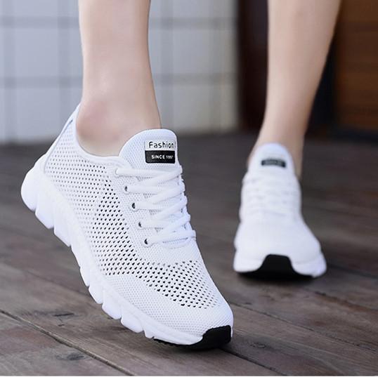 Кроссовки Летние Fashion белые