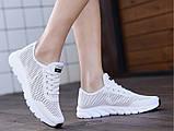 Кроссовки Летние Fashion белые, фото 7