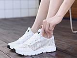 Кроссовки Летние Fashion белые, фото 5