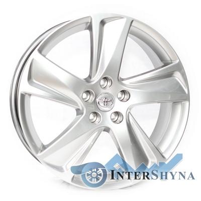Replica Toyota CT2301 7.5x19 5x114.3 ET35 DIA60.1 Hyper Silver (Супер срібло)