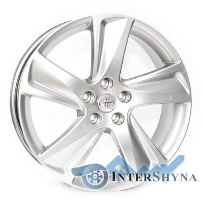 Replica Toyota CT2301 7.5x19 5x114.3 ET35 DIA60.1 Hyper Silver (Супер срібло), фото 2