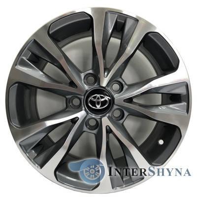 Литые диски Replica Toyota CT2318 6.5x16 5x114.3 ET45 DIA60.1 GMF, фото 2