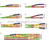 Потрійна стрілка Three-Way Switch 15° & 15°/R9, PIKO A-Gleis 55225, колія 16,5 мм, масштабу 1:87, фото 4