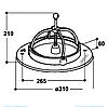 Вид кормушки-миски (поилки) для поросенка SUEVIA модель 240, фото 2