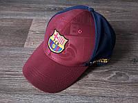 Футбольная Бейсболка / кепка Барселона / Barcelona бордовая 19-20, фото 1