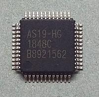 AS19-HG микросхема TFT-LCD 18+1 канальный гамма-буфер QFP48 AS19-H1G, фото 1