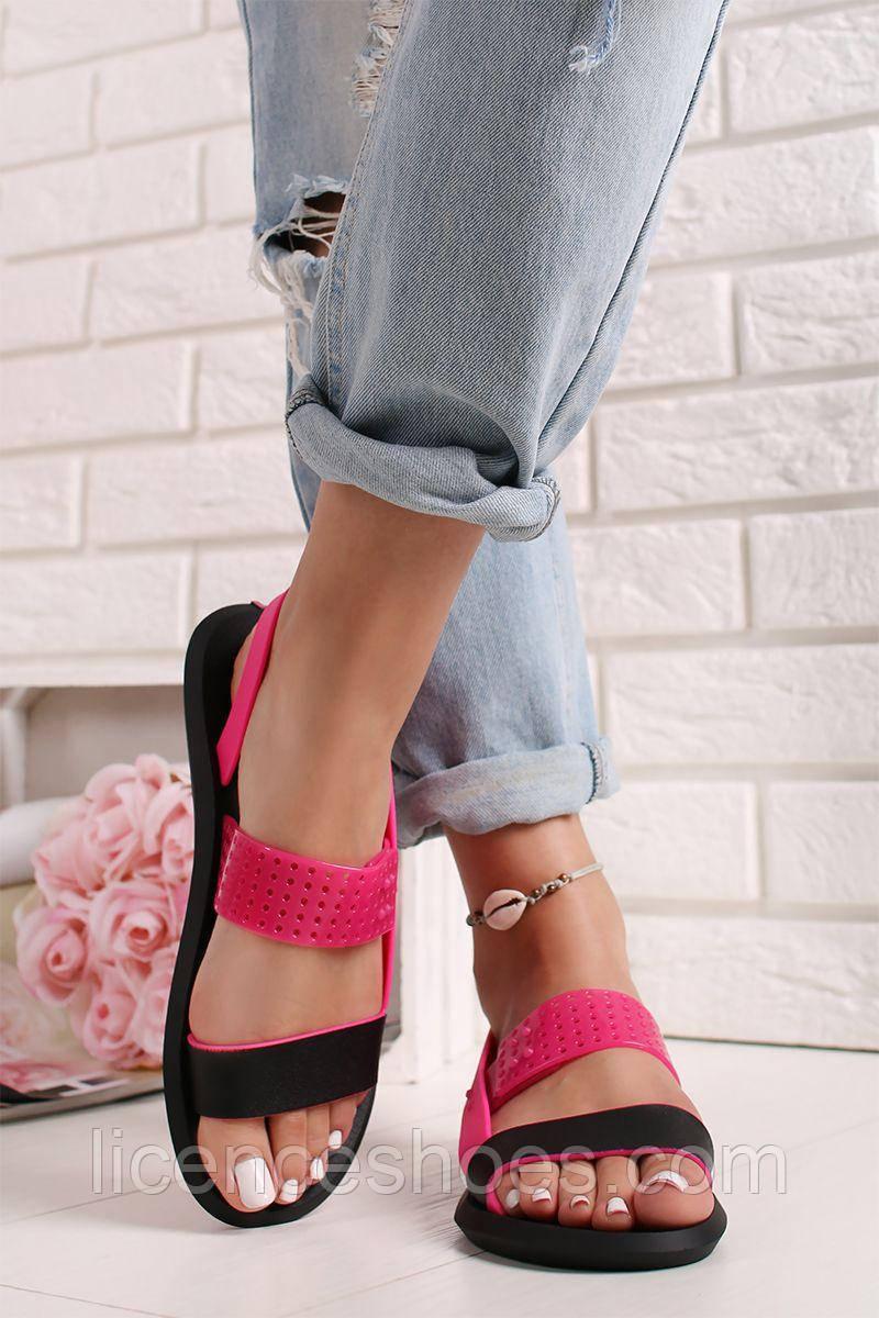 41 расцветка. Женские сандалии, босоножки Rider R1 Sandal Fem Black/Pink