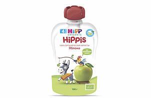 Пюре фруктовое органик яблоко HiPP (Хипп) 100 гр с 4 месяцев