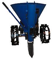 Картофелесажалка ТМ АгроМир (4 позиции шага посадки, лента, транспорт. колеса), фото 1