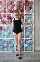 Купальник майка для танцев черный, белый ,розовый и голубой
