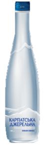 Мін вода Карпатська Джерельна (СКЛО) 0,5 л с/р, фото 2