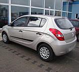 Молдинги на двері для Hyundai i20 Mk1 5Dr 2008-2014, фото 3