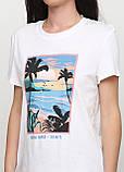Стильная женская хлопковая футболка от C&A Clockhouse, Германия, размер М, фото 2