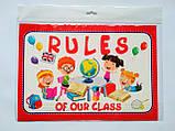 НУШ Набір карток. Правила нашого класу «Rules of our class» (англійською) (НП), фото 2