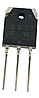 2SB817 Транзистор биполярный PNP, Ic=-12А, Vceo=-140В, Vcbo=-160В, Pd=100Вт, hFE= 60…200 [TO-3PN]