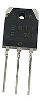 2SB817 Транзистор биполярный PNP, Ic=-12А, Vceo=-140В, Vcbo=-160В, Pd=100Вт, hFE= 60…200 [TO-3PN], фото 1