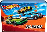 Hot Wheels подарочный набор базовых машинок Хот Вилс 20 шт Hot Wheels 20 Cars Gift Pack