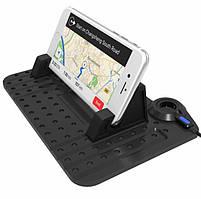 ПАвтомобильный держатель для телефона с силиконовой подушкой