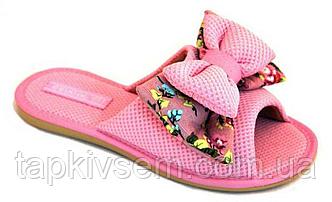 Тапки женские Белста ОРИГИНАЛ 18-06 розовые бант-принцесса