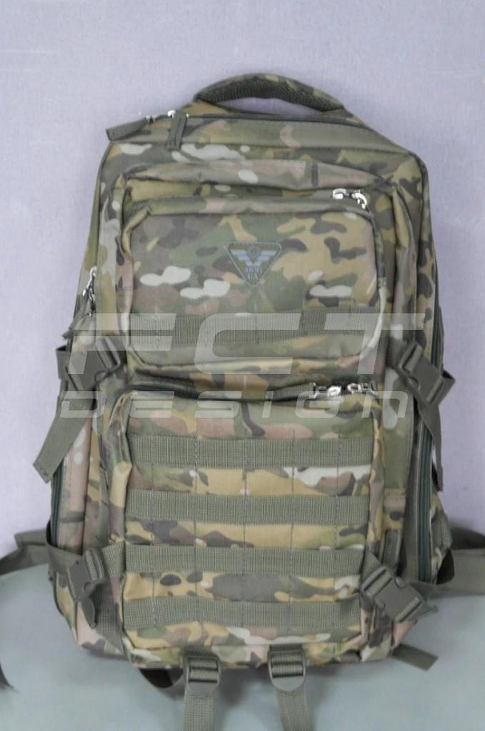 Рюкзак камуфляжный мультикам тактический с системой MOLLE 45 литров