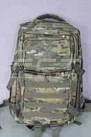 Рюкзак камуфляжный мультикам тактический с системой MOLLE 45 литров, фото 1