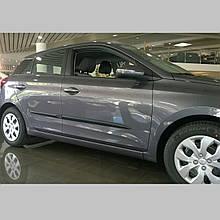 Молдинги на двері для Hyundai i20 Mk2 до-рестайлінг 2014-2018
