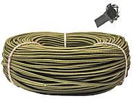Эспандер эластичный шнур 8 мм цвет Хаки (Польша) для лодки фитнеса спорта тренировок , сняряжения, фото 1